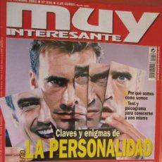 Collectionnisme de Magazine Muy Interesante: MUY INTERESANTE N º 256 SEPTIEMBRE 2002 CLAVES Y ENIGMAS DE LA PERSONALIDAD . Lote 197588748