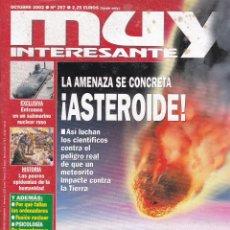 Coleccionismo de Revista Muy Interesante: REVISTA MUY INTERESANTE: LA AMENAZA SE CONCRETA !ASTEROIDE!. Lote 197655582