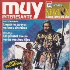 Coleccionismo de Revista Muy Interesante: REVISTA MUY INTERESANTE : ASI VIVIA EL HOMBRE DEL GLACIAR. Lote 197656742