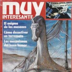 Coleccionismo de Revista Muy Interesante: 4 EJEMPLARES REVISTA MUY INTERESANTE. Lote 197658153