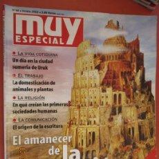 Collectionnisme de Magazine Muy Interesante: MUY INTERESANTE ESPECIAL Nº 58 VERANO 2002 - EL AMANECER DE LA CIVILIZACION . Lote 197682947