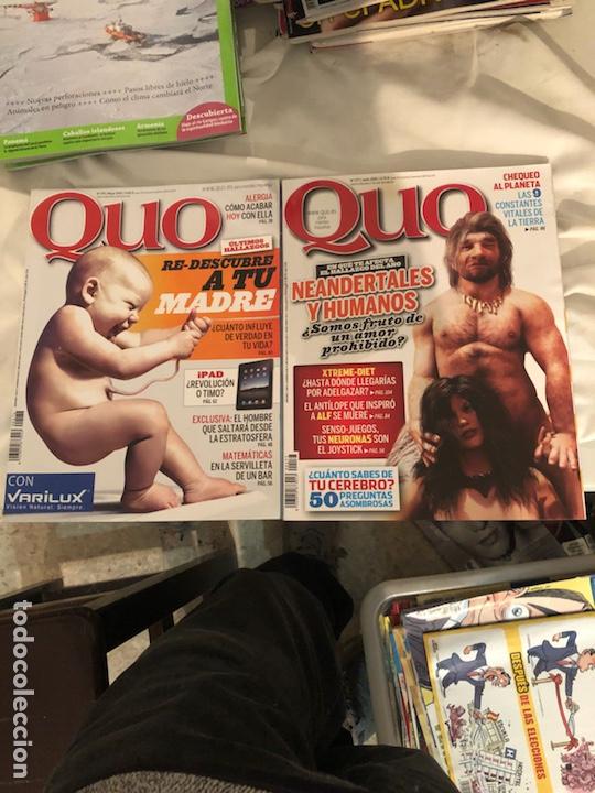 Coleccionismo de Revista Muy Interesante: Lote de 59 revistas, QUO,MUY INTERESANTE Y GEO - Foto 2 - 197939040