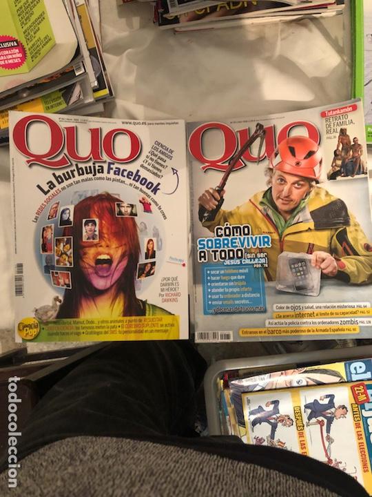 Coleccionismo de Revista Muy Interesante: Lote de 59 revistas, QUO,MUY INTERESANTE Y GEO - Foto 9 - 197939040