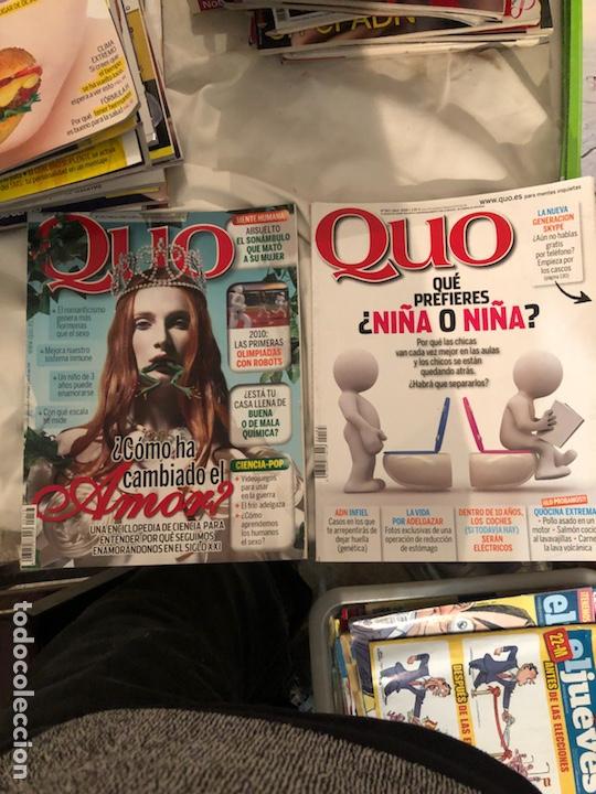 Coleccionismo de Revista Muy Interesante: Lote de 59 revistas, QUO,MUY INTERESANTE Y GEO - Foto 11 - 197939040