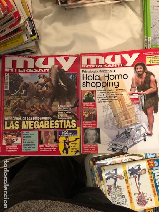 Coleccionismo de Revista Muy Interesante: Lote de 59 revistas, QUO,MUY INTERESANTE Y GEO - Foto 22 - 197939040