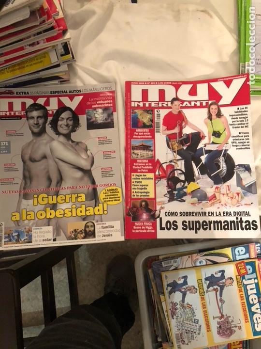 Coleccionismo de Revista Muy Interesante: Lote de 59 revistas, QUO,MUY INTERESANTE Y GEO - Foto 29 - 197939040