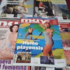 Coleccionismo de Revista Muy Interesante: LOTE 9 REVISTAS MUY INTERESANTE. Lote 197964458