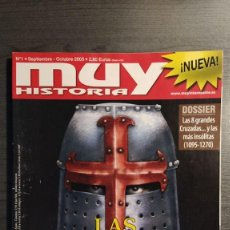 Coleccionismo de Revista Muy Interesante: MUY HISTORIA Nº 1. Lote 198149633