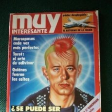 Coleccionismo de Revista Muy Interesante: REVISTA MUY INTERESANTE Nº 59. Lote 198315376