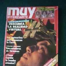 Coleccionismo de Revista Muy Interesante: REVISTA MUY INTERESANTE Nº 115. Lote 198393307