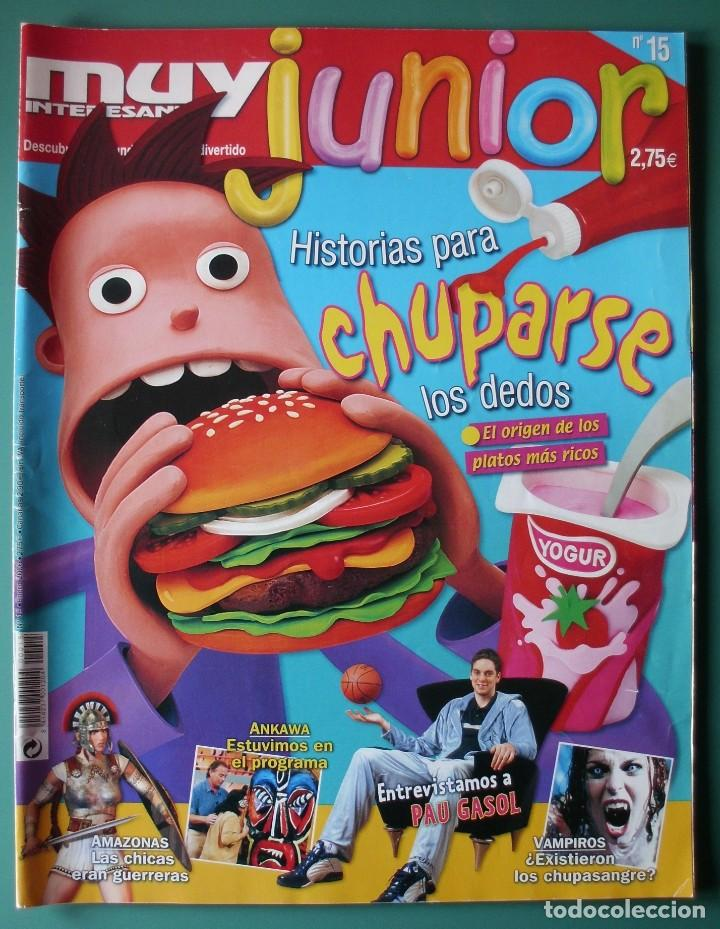MUY INTERESANTE JUNIOR Nº 15 PARA LA GENTE JOVEN (Coleccionismo - Revistas y Periódicos Modernos (a partir de 1.940) - Revista Muy Interesante)