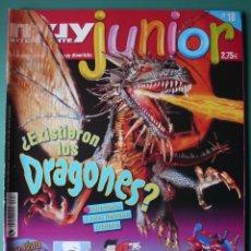 Coleccionismo de Revista Muy Interesante: MUY INTERESANTE JUNIOR Nº 18 PARA LA GENTE JOVEN. Lote 198461188