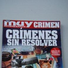 Coleccionismo de Revista Muy Interesante: REVISTA MUY INTERESANTE CRÍMEN: CRÍMENES SIN RESOLVER. Lote 198521736