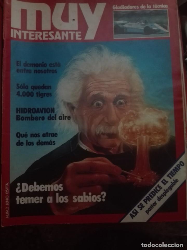 Coleccionismo de Revista Muy Interesante: muy interesante con tapas 2,3,7,10,11,12,13,14,15,16,17,19 con posters tambien - Foto 2 - 198857657