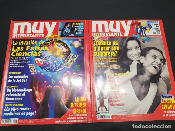 Coleccionismo de Revista Muy Interesante: Año 1995 revista MUY INTERESANTE 11 números (falta junio) - Foto 3 - 200276930