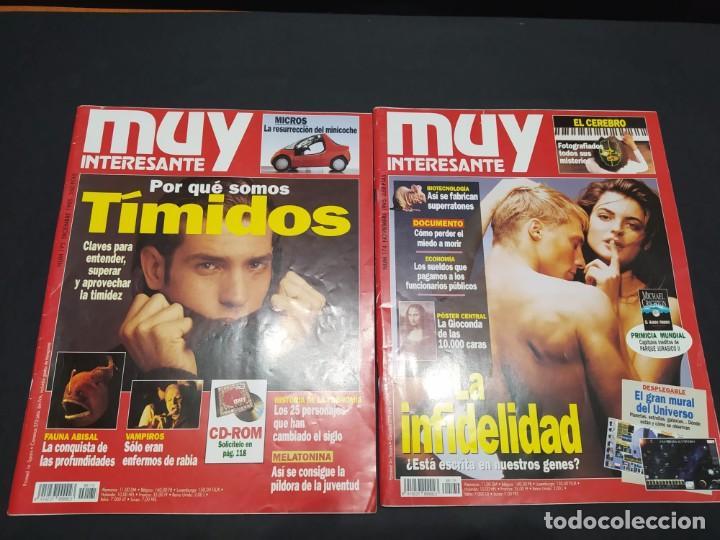 Coleccionismo de Revista Muy Interesante: Año 1995 revista MUY INTERESANTE 11 números (falta junio) - Foto 7 - 200276930