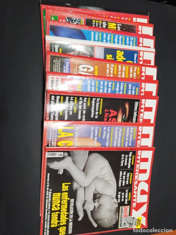 NUEVE REVISTAS MUY INTERESANTE AÑO 1997 (Coleccionismo - Revistas y Periódicos Modernos (a partir de 1.940) - Revista Muy Interesante)