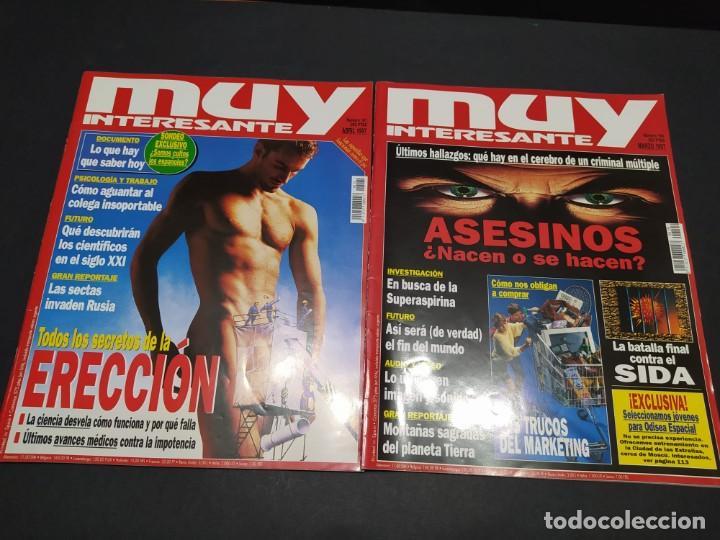 Coleccionismo de Revista Muy Interesante: Nueve revistas MUY INTERESANTE año 1997 - Foto 3 - 200279366