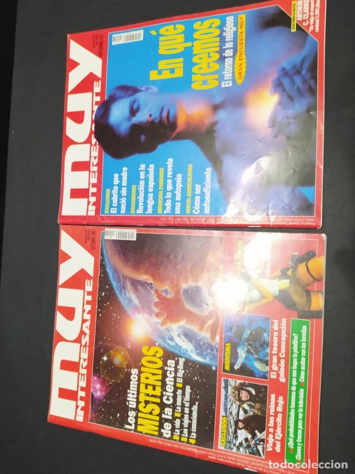 Coleccionismo de Revista Muy Interesante: Nueve revistas MUY INTERESANTE año 1997 - Foto 5 - 200279366