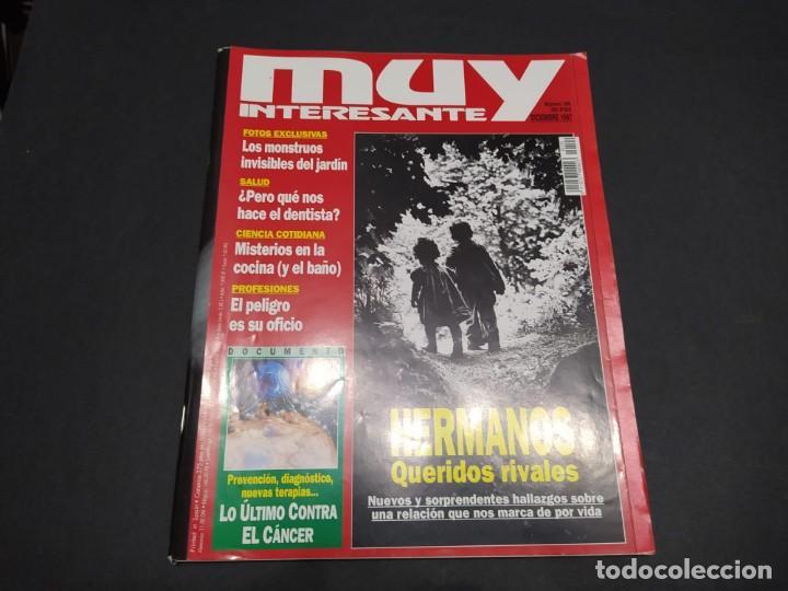 Coleccionismo de Revista Muy Interesante: Nueve revistas MUY INTERESANTE año 1997 - Foto 6 - 200279366