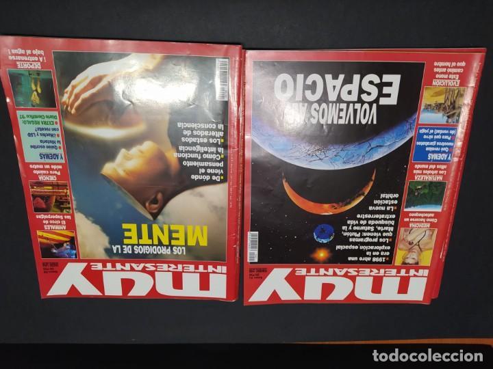 Coleccionismo de Revista Muy Interesante: Lote de seis revistas MUY INTERESANTE año 1998 - Foto 2 - 200284016