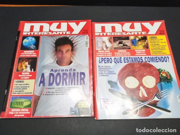 Coleccionismo de Revista Muy Interesante: Lote de seis revistas MUY INTERESANTE año 1998 - Foto 3 - 200284016