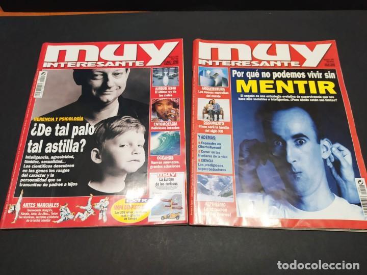 Coleccionismo de Revista Muy Interesante: Lote de seis revistas MUY INTERESANTE año 1998 - Foto 4 - 200284016