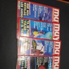 Coleccionismo de Revista Muy Interesante: LOTE DE CUATRO REVISTAS MUY INTERESANTE AÑO 1992. Lote 200285343