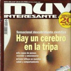 Collectionnisme de Magazine Muy Interesante: REVISTA MUY INTERESANTE NUMERO 200. Lote 201855390