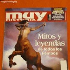 Colecionismo da Revista Muy Interesante: REVISTA MUY INTERESANTE HISTORIA Nº 62 MITOS Y LEYENDAS DE TODOS LOS TIEMPOS*. Lote 202358315
