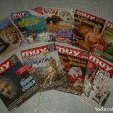Coleccionismo de Revista Muy Interesante: LOTE DE 10 REVISTA MUY INTERESANTE ESPECIAL 13 18 30 43 60 61 64 65 66 67. VER FOTOS. Lote 202479647