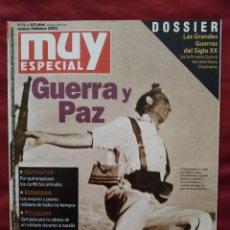 Coleccionismo de Revista Muy Interesante: MUY ESPECIAL Nº 51 ENERO / FEBRERO 2001 GUERRA Y PAZ. Lote 202868096