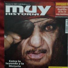 Coleccionismo de Revista Muy Interesante: MUY HISTORIA Nº 12 JUNIO 2007. PIRATAS.. Lote 202872873