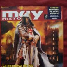 Coleccionismo de Revista Muy Interesante: MUY HISTORIA Nº 61 MARZO 2015. LA EPOPEYA DE LOS TEMPLARIOS.. Lote 202877992