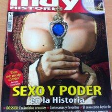 Coleccionismo de Revista Muy Interesante: REVISTA MUY HISTORIA, Nº 18, AÑO 2008 - SEXO Y PODER EN LA HISTORIA. Lote 62059244
