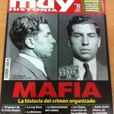 Coleccionismo de Revista Muy Interesante: REVISTA MUY HISTORIA, Nº 53, AÑO 2014 - MAFIA, LA HISTORIA DEL CRIMEN ORGANIZADO. Lote 62059384