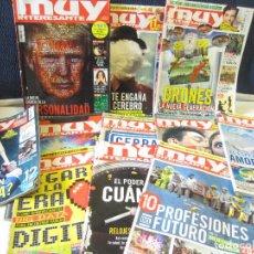 Coleccionismo de Revista Muy Interesante: LOTE 11 REVISTAS MUY INTERESANTE. Lote 206547071