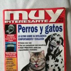 Coleccionismo de Revista Muy Interesante: MUY INTERESANTE - PERROS Y GATOS - NÚMERO 212 - ENERO 1999. Lote 207585025