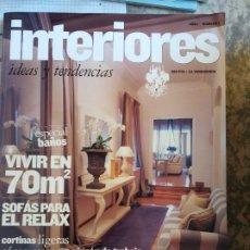 Coleccionismo de Revista Muy Interesante: INTERIORES. IDEAS Y TENDENCIAS. ESPECIAL BAÑOS. CORTINAS LIGERAS.. Lote 207692455