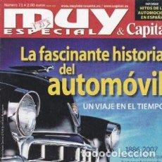 Coleccionismo de Revista Muy Interesante: REVISTA MUY INTERESANTE : LA FASCINANTE HISTORIA DEL AUTOMOVIL. Lote 207907431