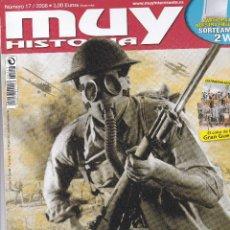 Coleccionismo de Revista Muy Interesante: REVISTA MUY HISTORIA : LA I GUERRA MUNDIAL 90 AÑOS DESPUES. Lote 208296223