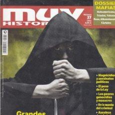 Coleccionismo de Revista Muy Interesante: MUY HISTORICA: GRANDES CRIMENES Y CRIMINALES DE LA HISTORIA. Lote 208297231