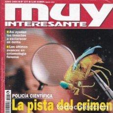 Coleccionismo de Revista Muy Interesante: MUY INTERESANTE: POLICIA CIENTIFICA LA PISTA DEL CRIMEN. Lote 208359133