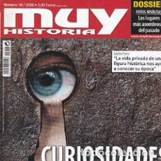Coleccionismo de Revista Muy Interesante: MUY HISTORIA: CURIOSIDADES DE LA HISTORIA. Lote 208359531
