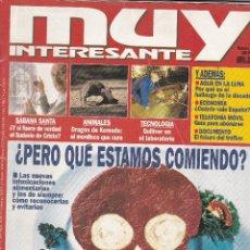 Coleccionismo de Revista Muy Interesante: REVISTA MUY INTERESANTE : ¿PERO QUE ESTAMOS COMIENDO?. Lote 208386288