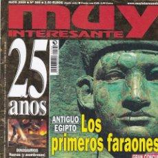 Coleccionismo de Revista Muy Interesante: REVISTA MUY INTERESANTE : ANTIGUO EGIPTO. LOS PRIMEROS FARAONES.. Lote 208386537