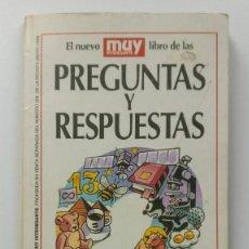 Collectionnisme de Magazine Muy Interesante: EL NUEVO LIBRO DE LAS PREGUNTAS Y RESPUESTAS - SUPLEMENTO REVISTA MUY INTERESANTE Nº 204 MAYO 1998. Lote 210479362