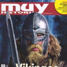 Coleccionismo de Revista Muy Interesante: REVISTA MUY HISTORIA: VIKINGOS, LOS INVASORES QUE LLEGARON DEL FRIO. Lote 211636335