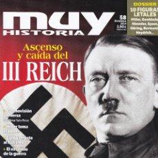 Coleccionismo de Revista Muy Interesante: REVISTA MUY HISTORIA: ASCENSO Y CAIDA DEL III REICH. Lote 211636724
