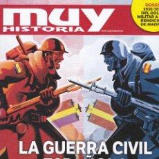 Coleccionismo de Revista Muy Interesante: REVISTA MUY HISTORIA: LA GUERRA CIVIL ESPAÑOLA. Lote 211637091